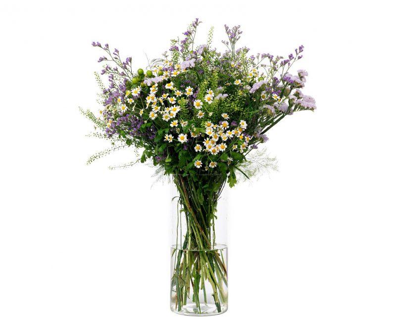 Ramo Flores Nº 26 Tanacetum, thlaspi, hypericum, statice, limonium, verdes varios