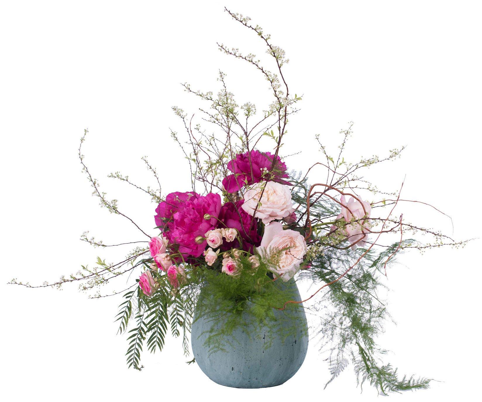 Bouquet Nº 01: Magnolia, Gerbera, Carnation, Astrantia, Foliage - Florist in Madrid
