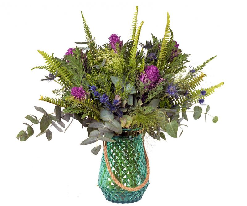 Ramo Nº 29: Brassica, Eryngium, Ammi Majus, Panicum, Thlaspi, Verdes