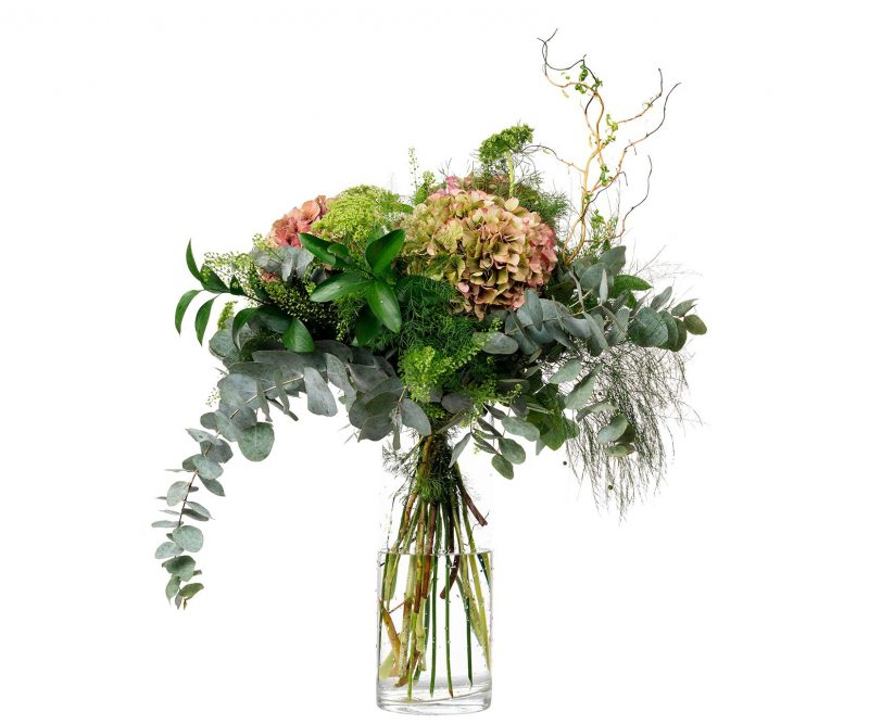 Ramo Flores Nº 10 Hortensias, Ammi majus, Tlhaspi, Ramajes, Verdes varios