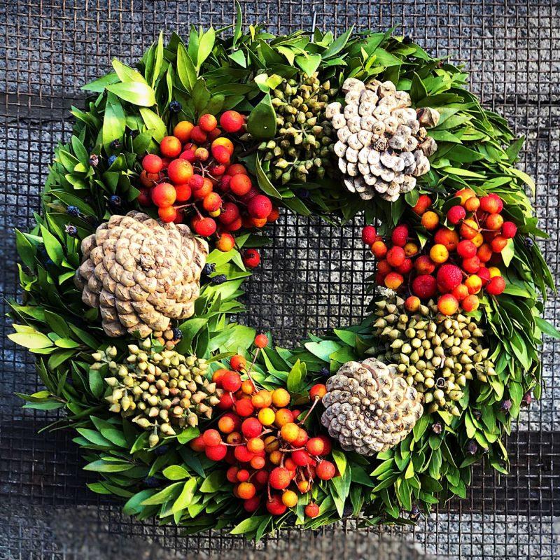 Coronas navideñas - Floristería Margarita se llama mi amor