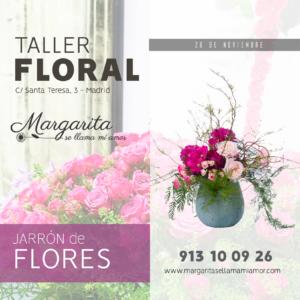 Floristería Margarita se llama mi amor -Taller Floral